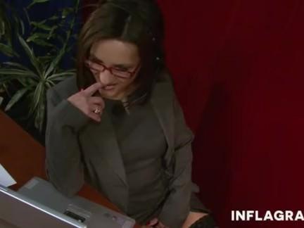 Sekretärin liebt Jana
