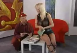 Alter Mann mit Vivian Sex